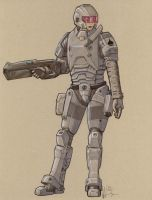 Pinnacle ME-30 Heavy Boarding Armour by Jepray
