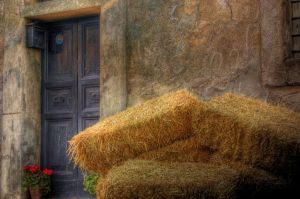 Hay Stacks 5097426 by StockProject1