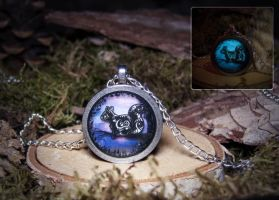 'The Magical Squirrel' Pendant by navkaze