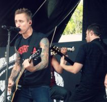 Yellowcard - Warped Tour 2012 by kml91225