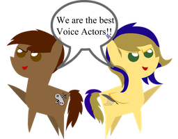 We are the best Voice Actor!! by darksoma905