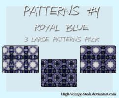 HVS-3 patterns 3 -Royal blue by High-Voltage-Stock