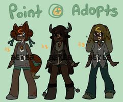 Point Adoptions 1 (closed) by ReineAdopts