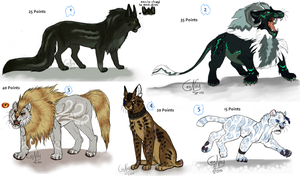 NEW Point adoptables by LeoNoy