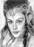 Arwen, The Lord of the Rings by LittleDragonZ