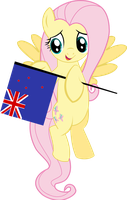 Kiwi Fluttershy by ImPlatinum