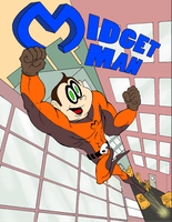 Midget-Man 01 Cover by FLAMINGPINECONE