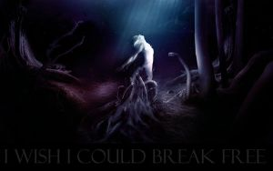 I wish I could break free by aash