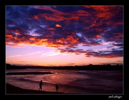 Caloundra Sunset 2 by paulmp