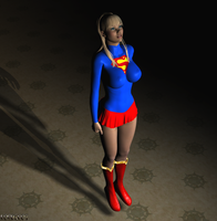 Supergirl Levitating 02 by LordSnot