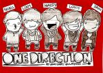 One Direction by isavalladares