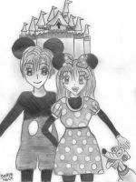 Mickey and Minnie by sunny-bea