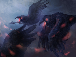 crows by YargoElster
