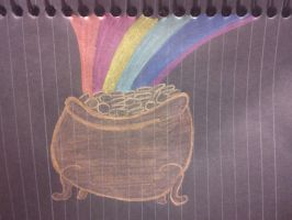 Metal Gold Pot by NotoriousBunny