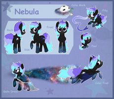 Reference sheet: Nebula by StarDust-Adoptables