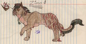 Zimo Contest Entry by silver-moonwolf