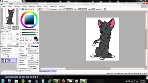 Pose im almost done coloring. ^o^ by DarkAngel3466