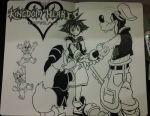 Kingdom Hearts 1 by mhadjy