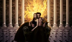 Hades and Persephone by fabilua