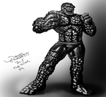 The Thing - Fantastic Four (DSC) by jameslink