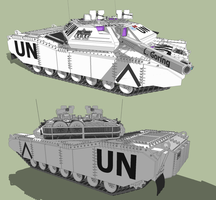 Main Battle Tank UN by MSgtHaas