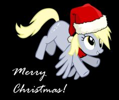 Christmas Derpy Hooves by Dekiel00