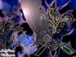 Buster Blader background by ladypicies