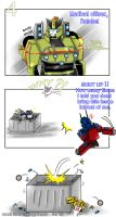 TFM-04-when Autobots meet Sam by BloodyChaser