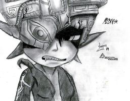 Midna from Twilight Princess by Impure-Soul-2