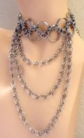 Large Choker with Chains by Divulged