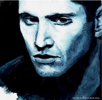 Prussian blue (Dean Winchester) by Niuchaczaus