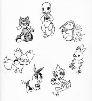 Inktober 2016 Day 3 by Moonlily5