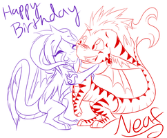 Happy Birthday Neaf! by Yorialu