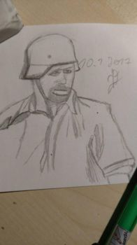 Solider WW2 by usernamedouble07