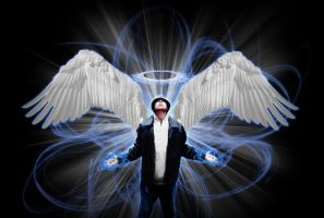 Photoshop Me as an Angel by drayh1985
