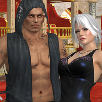 Dead or Alive 5 Rig and Christie by Hatredboy