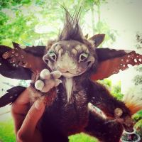 Copper, the little fairy poseable jointed doll by twyliteskyz