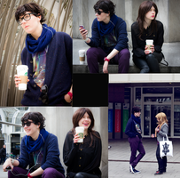SHERLOCK: Arriving late. With Starbucks. by Shigeako