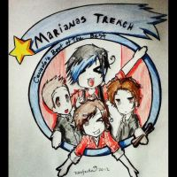 MARIANAS TRENCH!!! by zusfnda