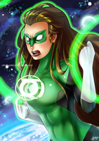 Green Lantern by athenanoza