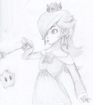 Challenger Approaching: Rosalina and Luma! by tsvlink25