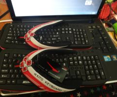 my keyboard slipper by EvaHuynh