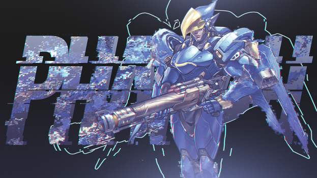 Overwatch - Pharah Wallpaper by MikoyaNx