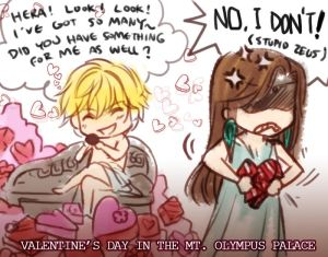 Valentine's Day in Mt. Olympus