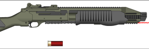 The Spinegnasher (Griev's Secondary Weapon) by grievousvsdarkahsoka