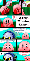 Kirby learns a New Word   O_o' by The9Tard
