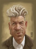 David Lynch by Parpa