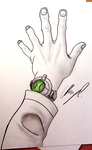 Ben 10 Alien Force Omnitrix by AnthonyParenti