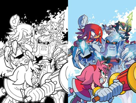 Sonic Universe 89 Cover by herms85