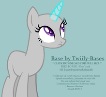 MLP Base 285 by Twiily-Bases
